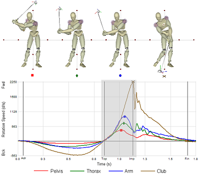 Kinematic Analysis Best Performance Group